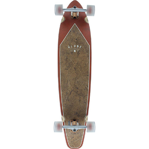 "Globe Byron Bay 43"" Coconut Rust Kicktail Longboard - Longboards USA"