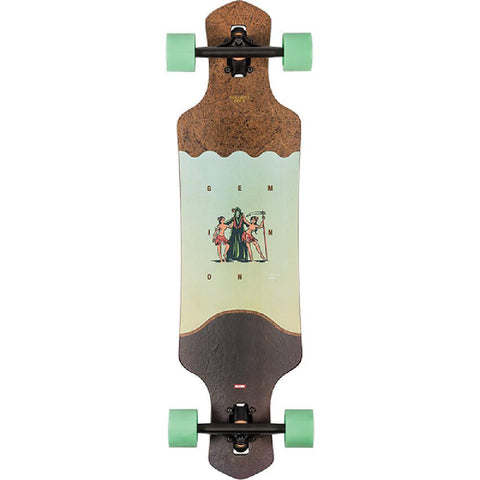 "Globe Geminon 35"" Coconut Reaper Drop Through Longboard - Longboards USA"