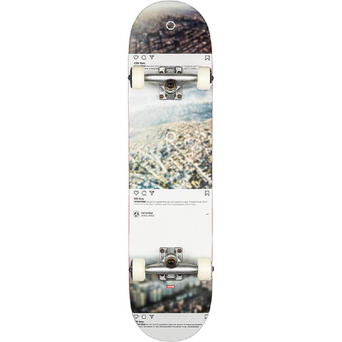 "Globe Social Media Sprawl Metropolypse 8.0"" Skateboard - Longboards USA"