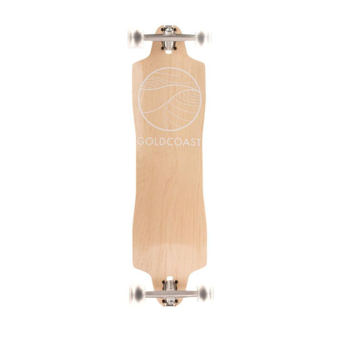 "GoldCoast Blond 36"" Classic Drop Through Longboard - Longboards USA"