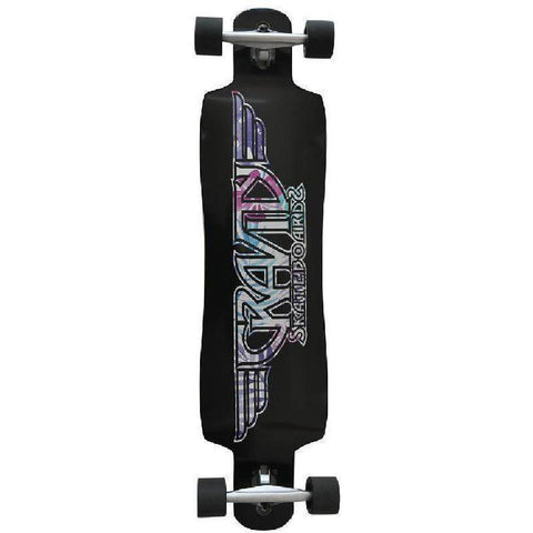 "Gravity Drop Through 41"" Paradise Plain Longboard - Longboards USA"