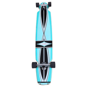 "Gravity Ed Economy Pro Series 55"" Blue Longboard - Longboards USA"
