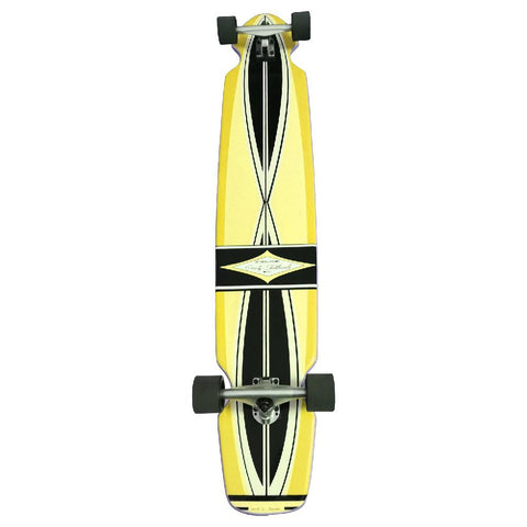"Gravity Ed Economy Pro Series 55"" Yellow Longboard - Longboards USA"