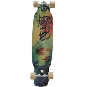 "Gravity Top Mount 39"" Wavy Longboard - Longboards USA"