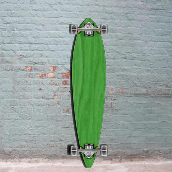 Green Pintail 40 inch Longboard - Longboards USA