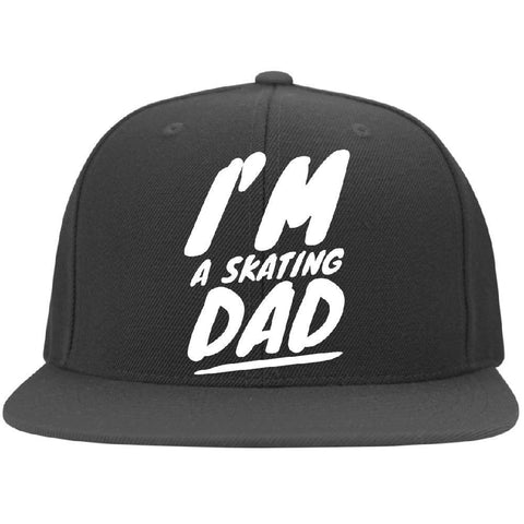 I'm A Skating Dad Flat Bill Cap - Longboards USA