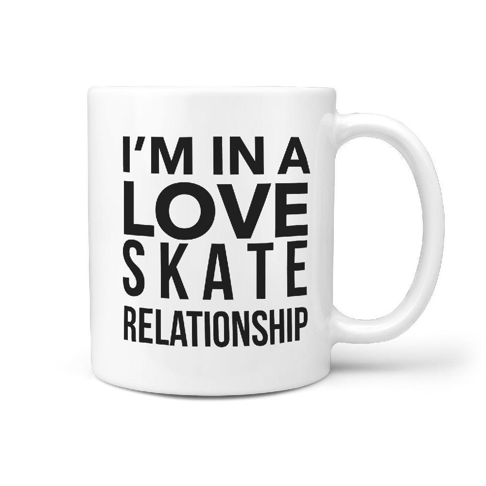 I'm in a Love Skate Relationship Skateboarding Mug - Longboards USA