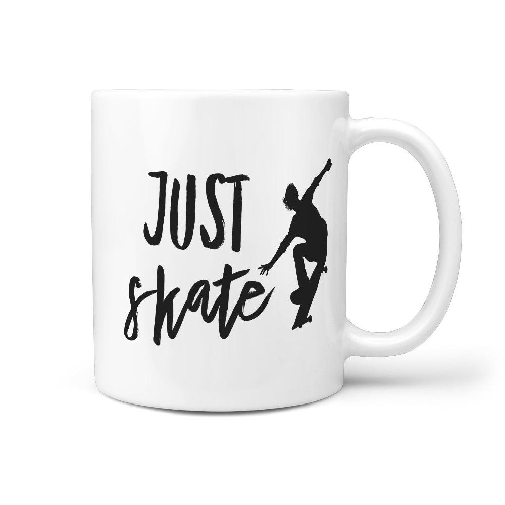 Just Skate - Coffee Mug - Longboards USA