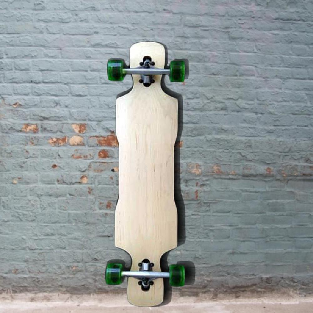 "Kray Drop Through Double Kick Longboard 38"" - Complete - Longboards USA"