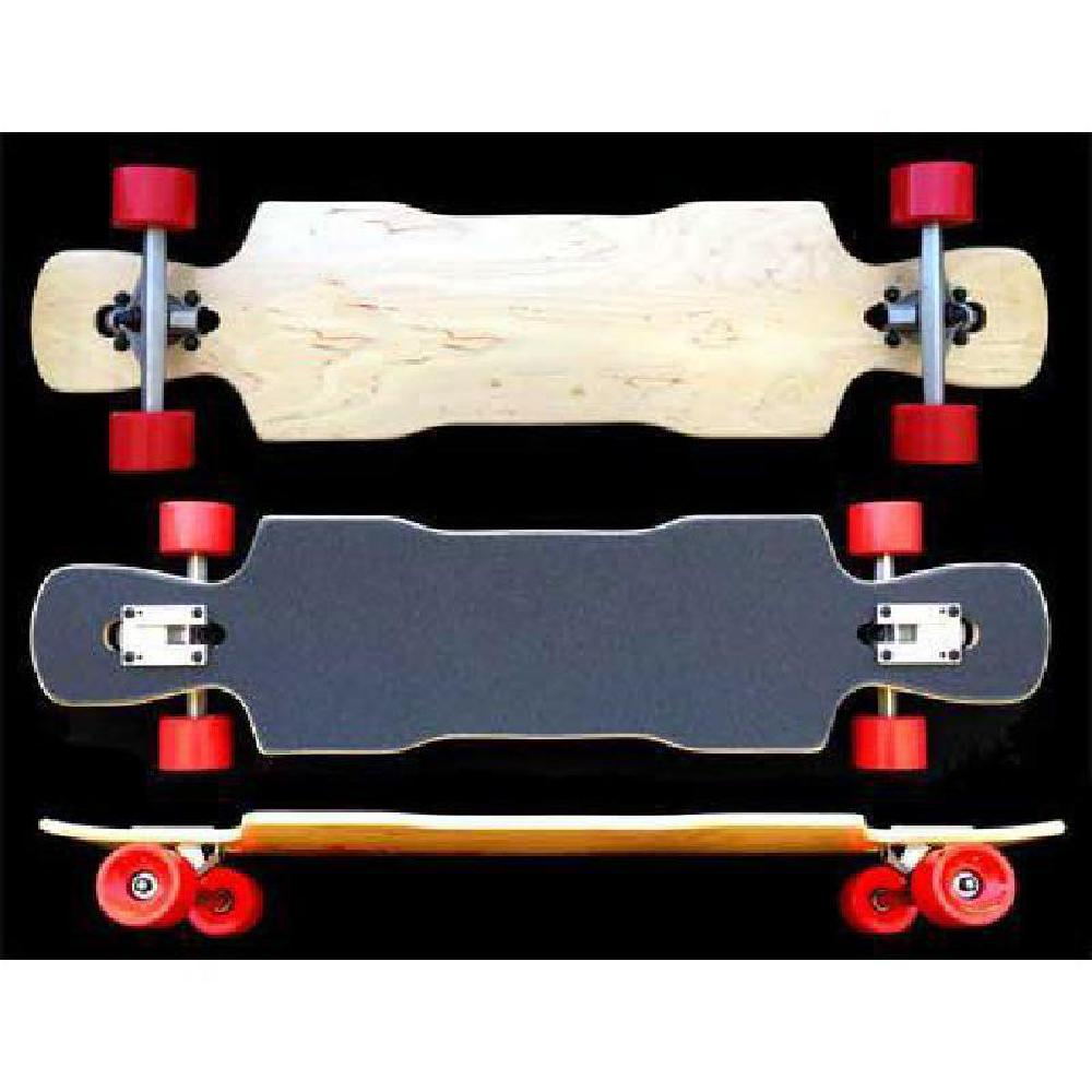 Kray Light Drop Through Double Kick Maple Longboard 38 inch - Complete - Longboards USA