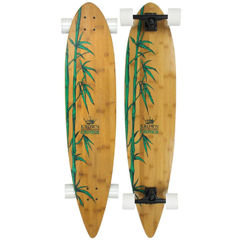 "Krown - Exotic Pintail 43"" - Longboards USA"