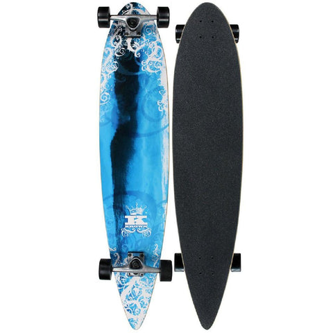 Krown - Pin Tail Blue Wave - Longboards USA