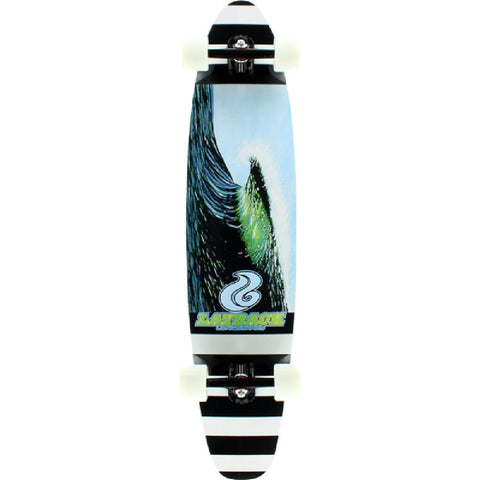 "Layback New Wave 40"" Kicktail Complete - Longboards USA"