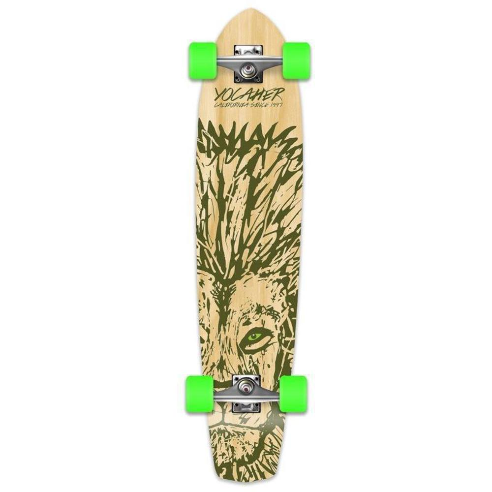 "Lion 36"" Slimkick Longboard from Punked - Complete - Longboards USA"