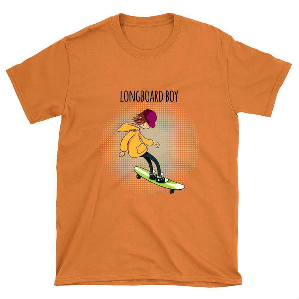 Longboard Boy T-Shirt - Longboards USA
