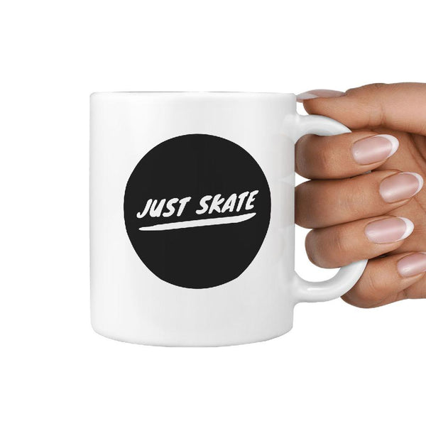 Just Skate - skateboard / longboard coffee mug - Longboards USA