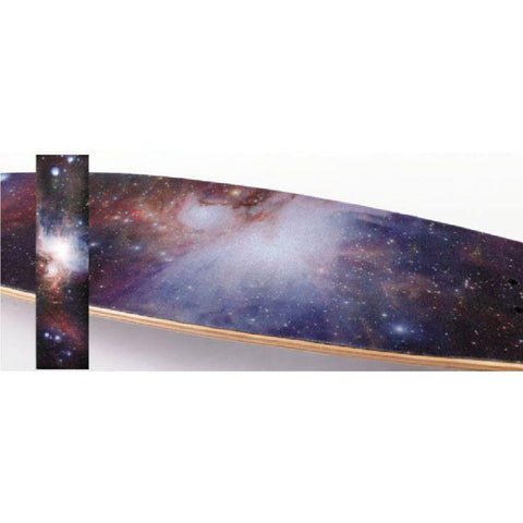 "Longboard Skateboard Galaxy 42"" x 10"" Griptape Sheet - Longboards USA"