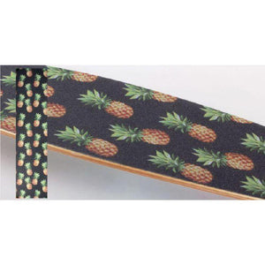 "Longboard Skateboard Pineapple 42"" x 10"" Griptape Sheet - Longboards USA"