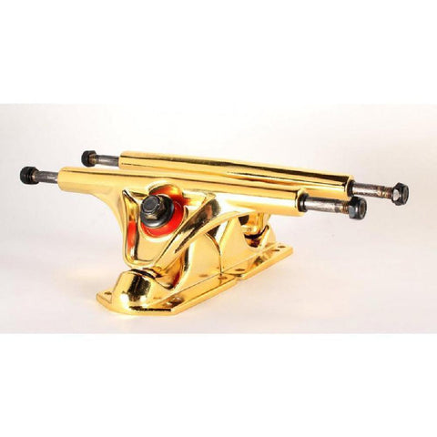 Longboard Skateboard RKP G7 Gold Trucks - set of 2 - Longboards USA