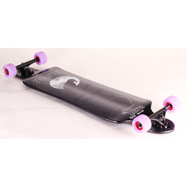 LRV2 black 40 inch Drop Down Drop Through Longboard - Longboards USA