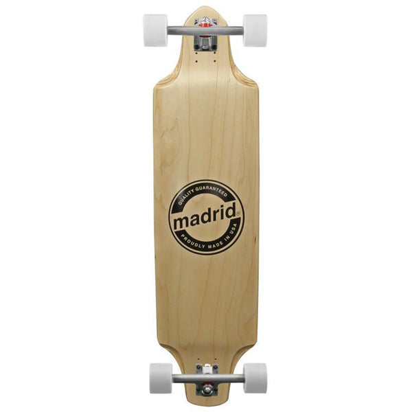 "Madrid 2015 Deviant Maple Downhill Longboard 38"" - Complete-Longboards USA"