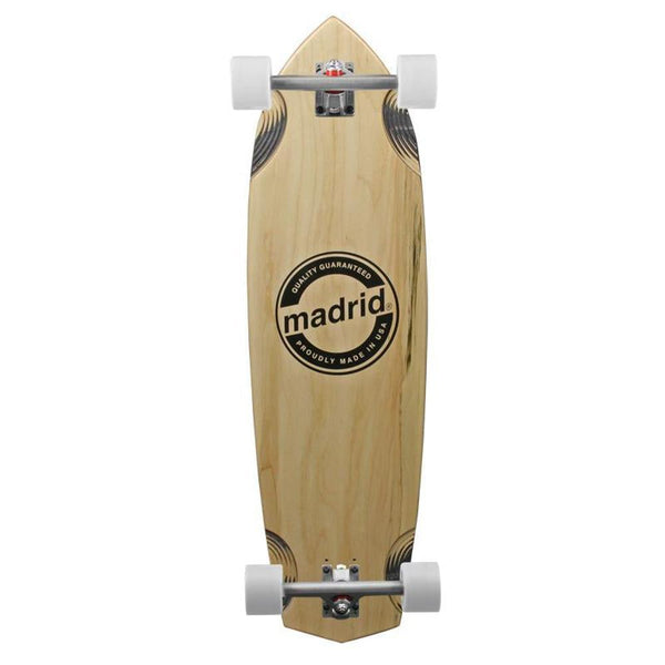 Madrid 2015 Downhill Longboard - Kraken Maple 37 inch - Complete-Longboards USA