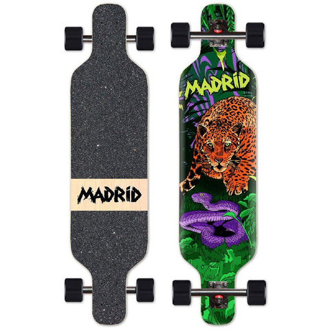 "Madrid 40"" Trance Jaguar Top Mount Longboard - Longboards USA"