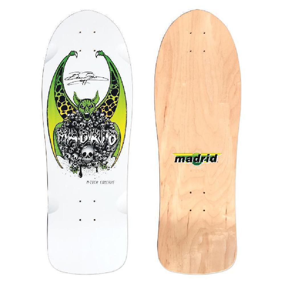 "Madrid Beau Brown OG White 30"" Cruiser - Longboards USA"