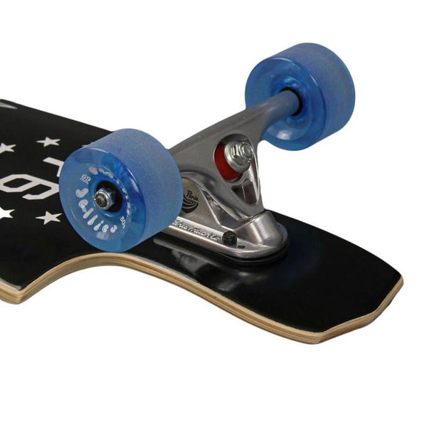 "Madrid BLK Maniac Freeride 39"" Top Mount Longboard Complete-Longboards USA"