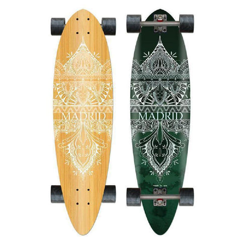 "Madrid Blunt 36.25"" Forest Longboard - Longboards USA"