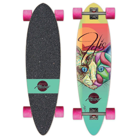 "Madrid Blunt 36"" Felis Cat Longboard - Longboards USA"