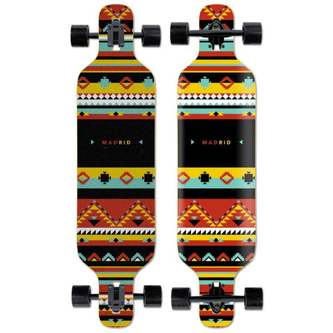 "Madrid Dream 39"" Africa Longboard - Longboards USA"
