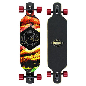 "Madrid Dream 39"" Autumn drop through Longboard - Longboards USA"