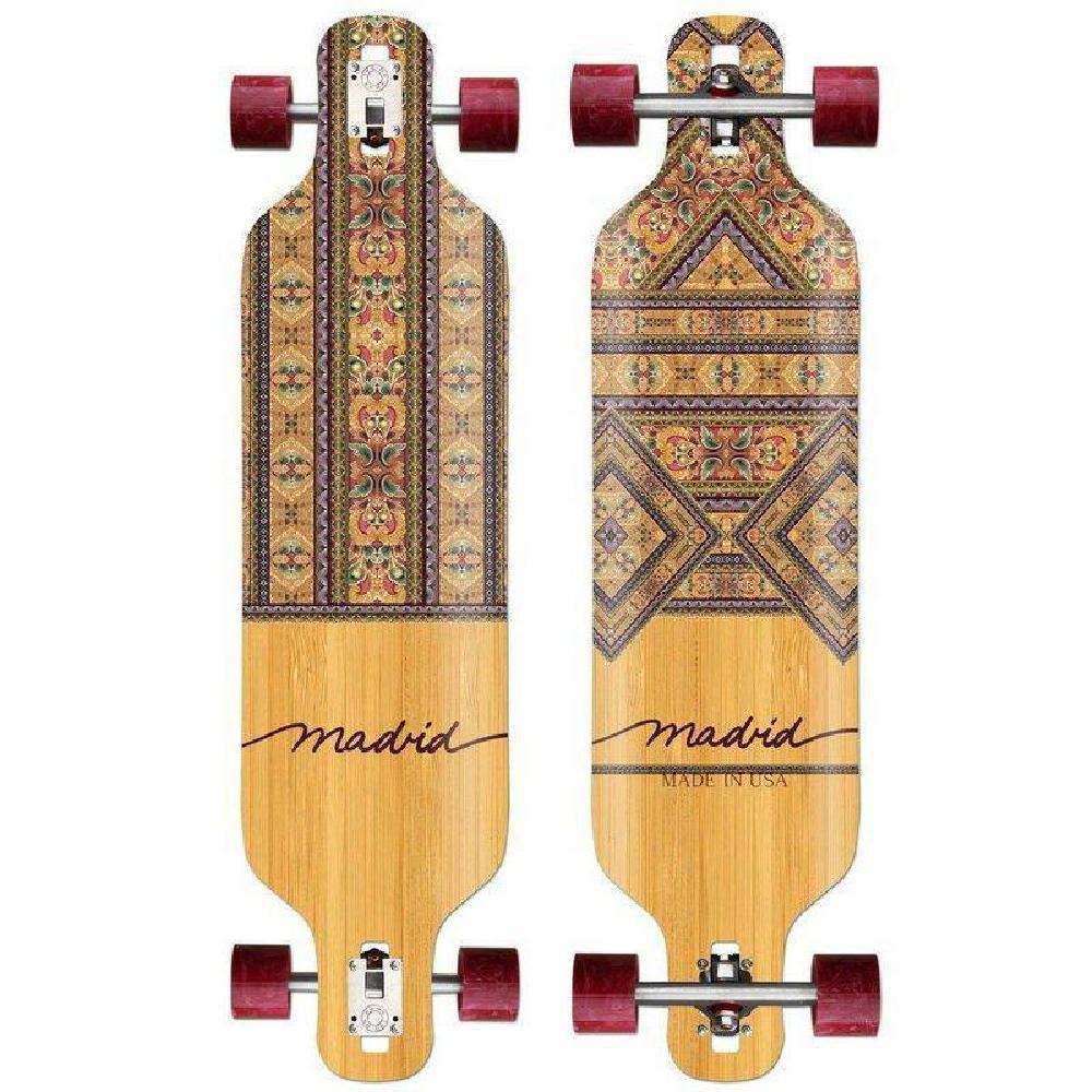 "Madrid Dream 39"" Fabri Drop Through Longboard - Longboards USA"