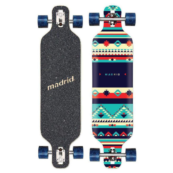 "Madrid Dream 39"" Inca drop through Longboard - Longboards USA"