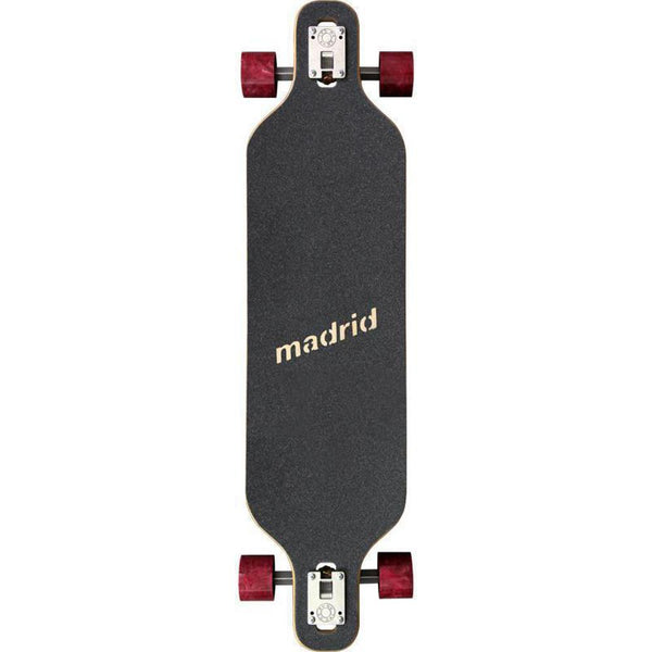 "Madrid Dream 39"" Vino Drop Through Longboard Deck - Longboards USA"