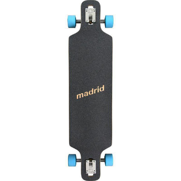 "Madrid DTF 39"" Future Paradise Drop Through Longboard - Longboards USA"