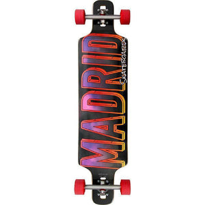 "Madrid DTF 41"" Skyfighter Drop through Longboard - Longboards USA"
