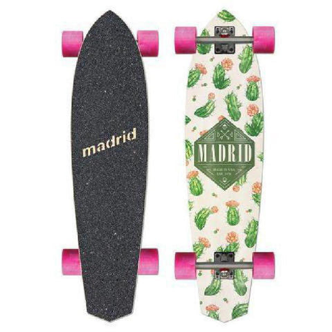 "Madrid Dude 37.25"" Cacti Carver Longboard - Longboards USA"