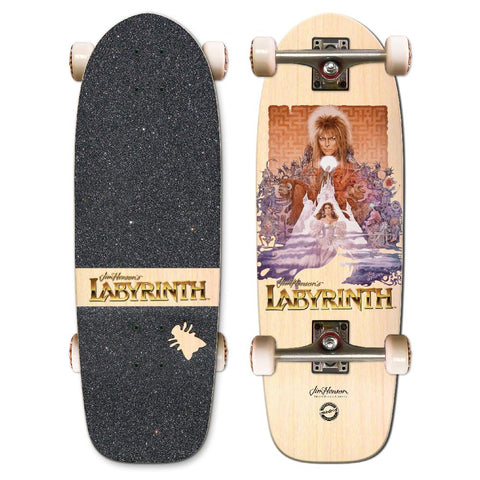 "Madrid Labyrinth Poster Marty 29.25"" Cruiser Skateboard - Longboards USA"