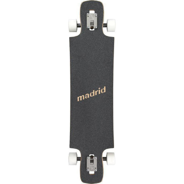 "Madrid Maniac Disease 39.25"" Drop Through Longboard Deck - Longboards USA"