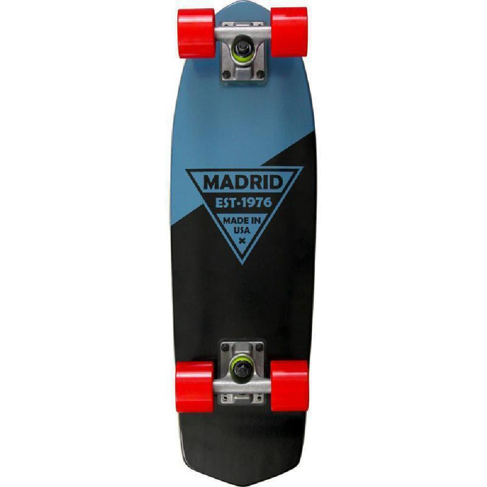"Madrid Party 24"" Blue Cruiser - Longboards USA"