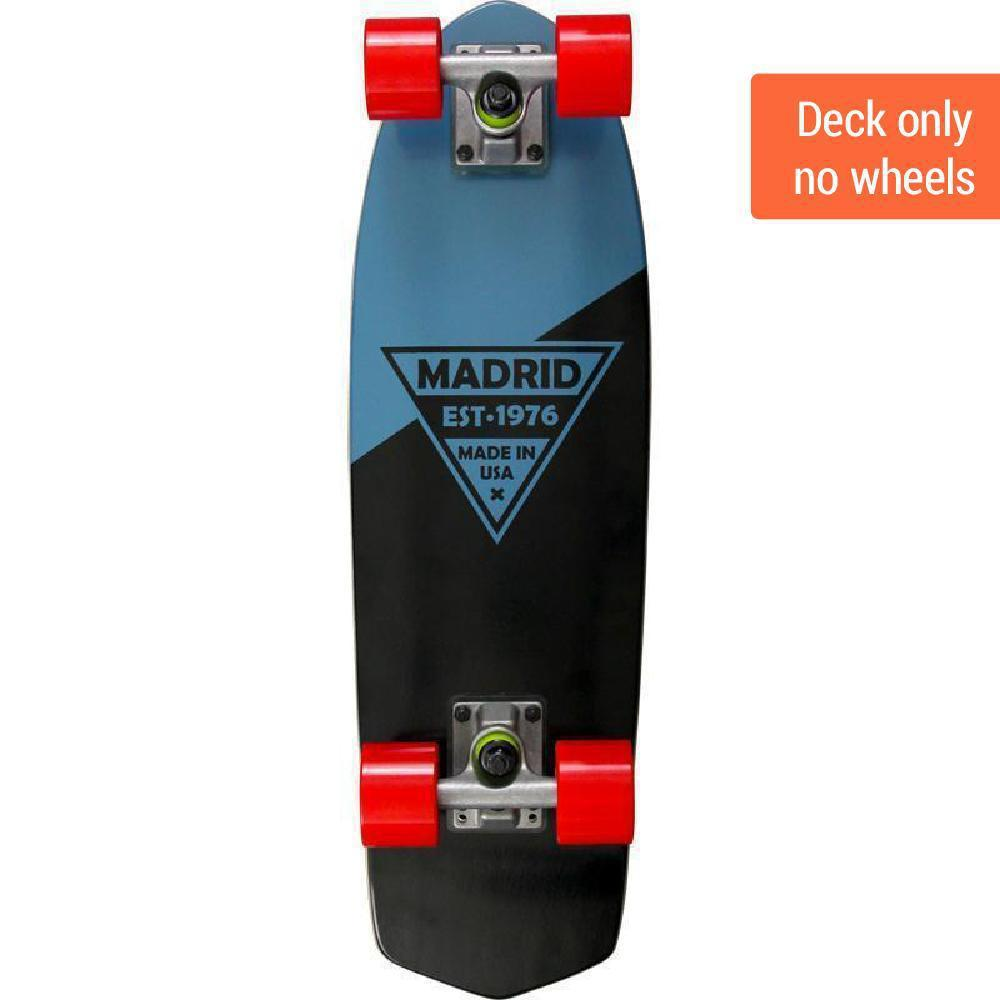 "Madrid Party 24"" Blue Cruiser Deck - Longboards USA"