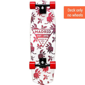 "Madrid Picket 28"" Rosa Cruiser Deck - Longboards USA"