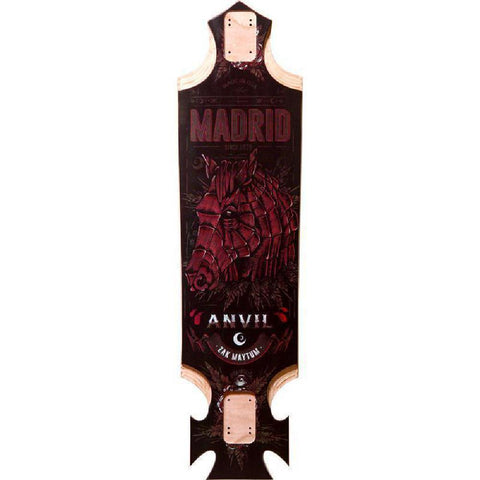 "Madrid Pro Series Anvil 37.4"" Longboard - Longboards USA"