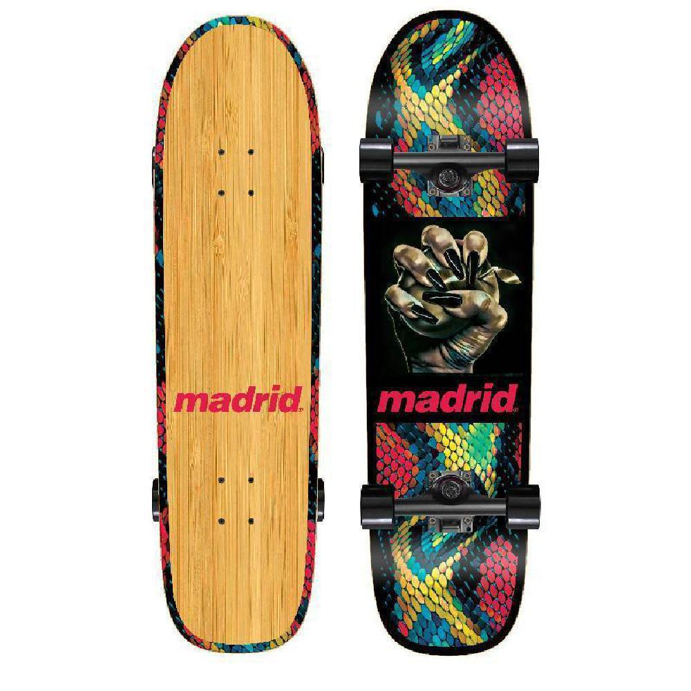 "Madrid Space Owl 32"" Temptation Bamboo Longboard - Longboards USA"