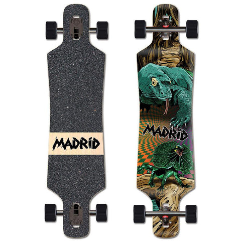 "Madrid Spade Komodo 39"" Drop Through Longboard - Longboards USA"