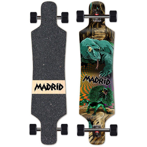 "Madrid Spade Komodo 39"" Top Mount Longboard - Longboards USA"