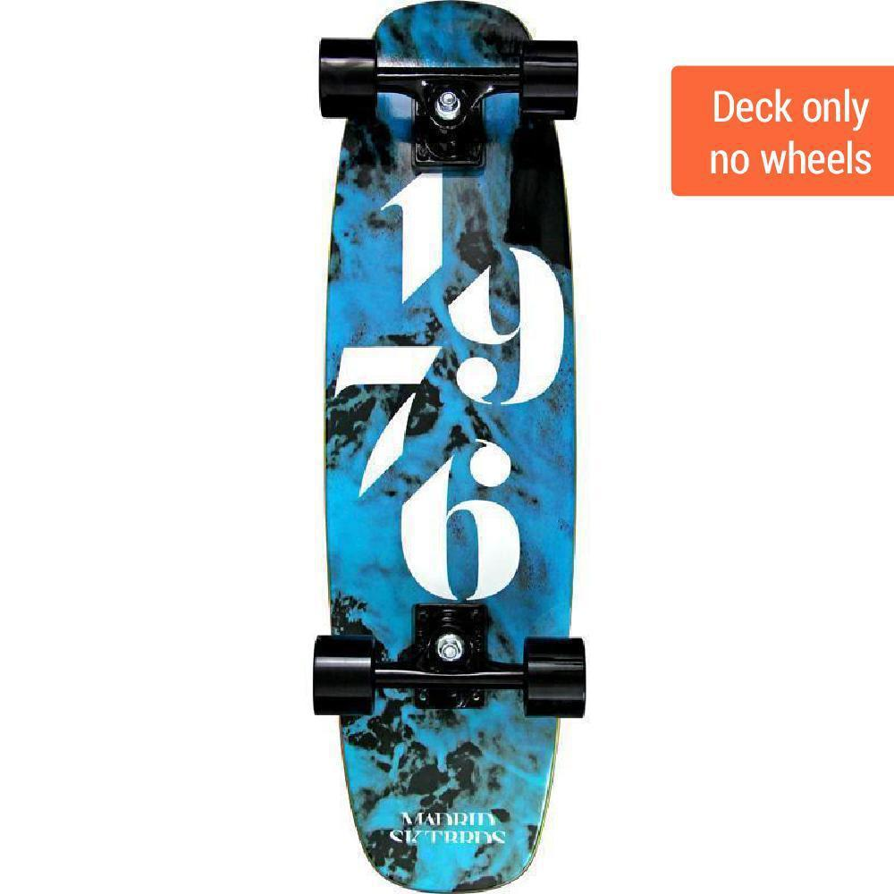 "Madrid Squirt 29"" Smoke Cruiser Deck - Longboards USA"