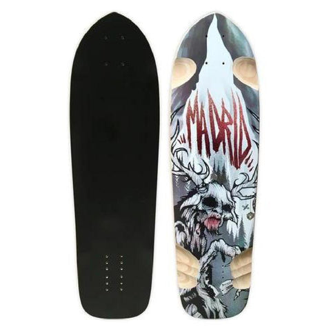 "Madrid Wendigo 33.75"" Legendary Longboard Deck - Longboards USA"